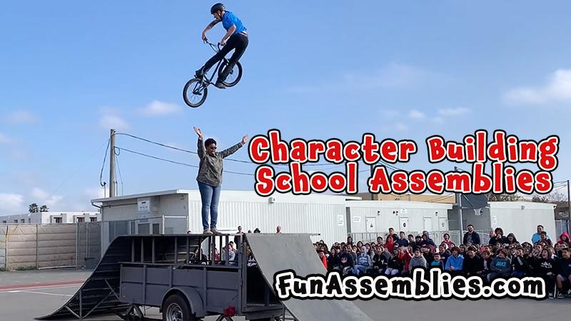 Character Building School Assemblies