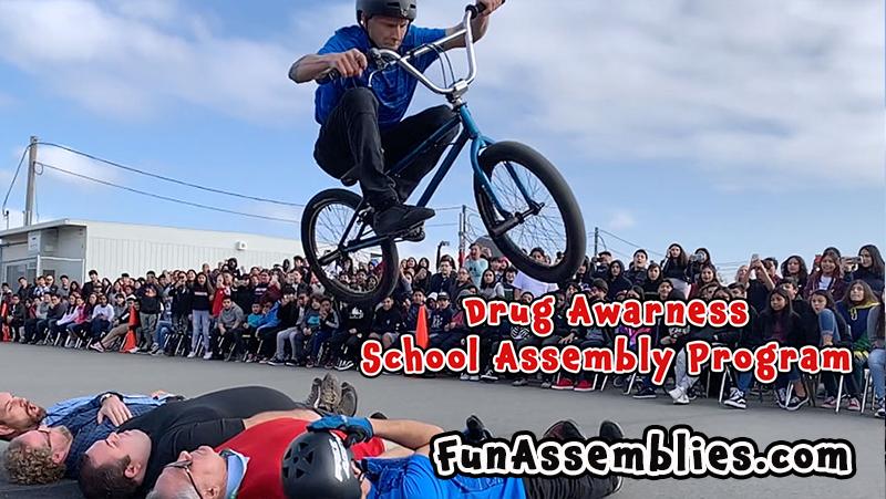Drug Awarness School Assembly Program